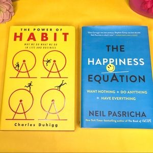 Other - Books!The Power of Habit & The Happiness Equation